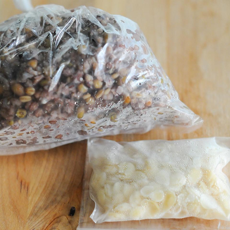五穀米和南杏