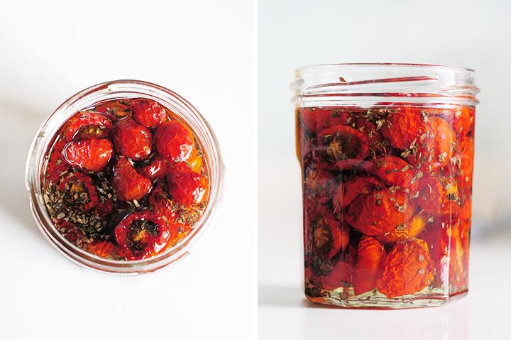 香料油漬蕃茄