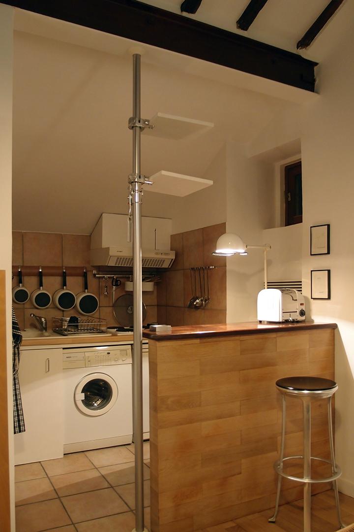 巴黎六區公寓之廚房