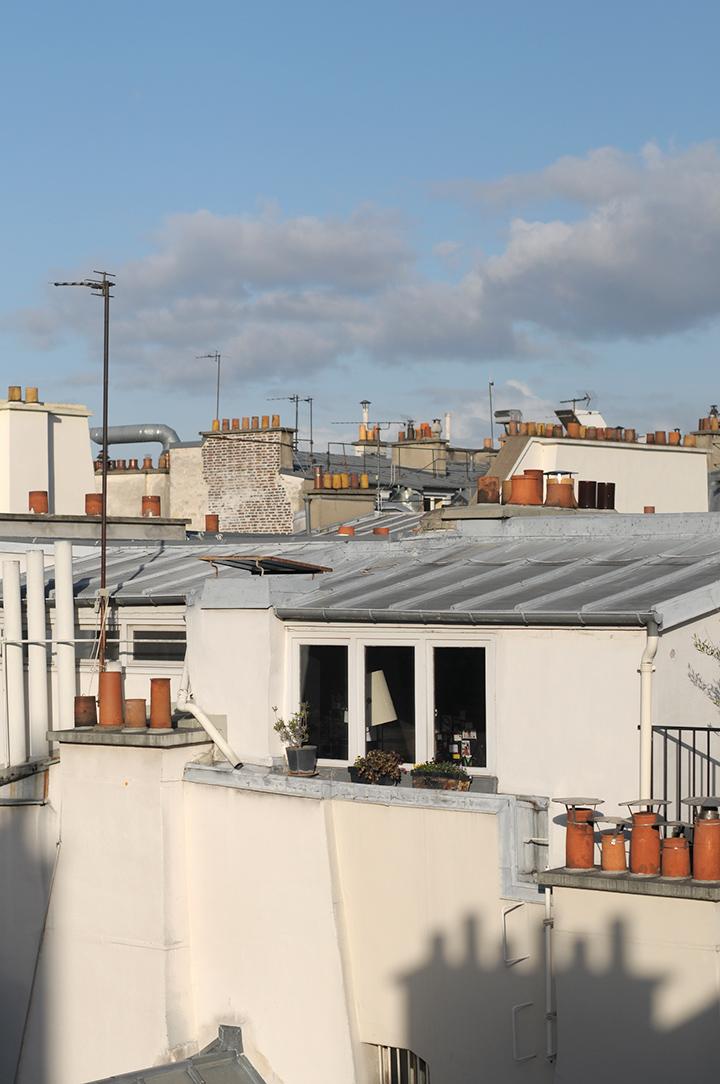 巴黎六區公寓窗景