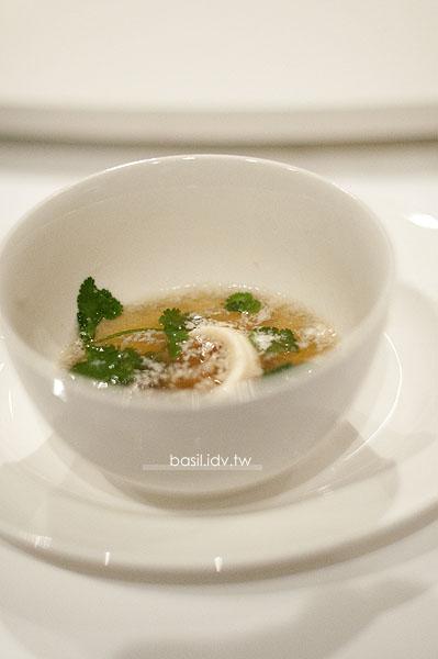 香菜魚片湯