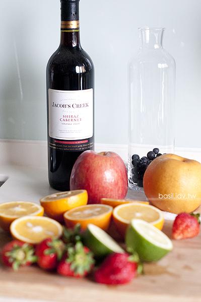 ... 葡萄酒的絕妙結合‧Sangria、草莓氣泡酒、檸檬氣泡酒