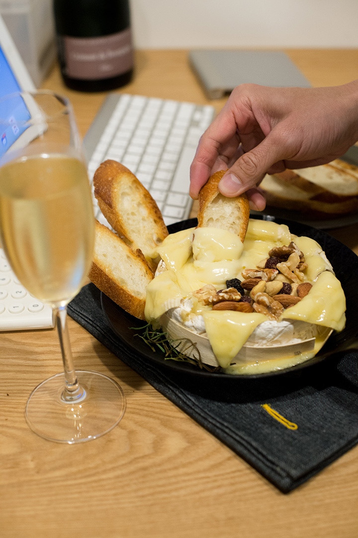 烤布里起司(baked brie cheese)