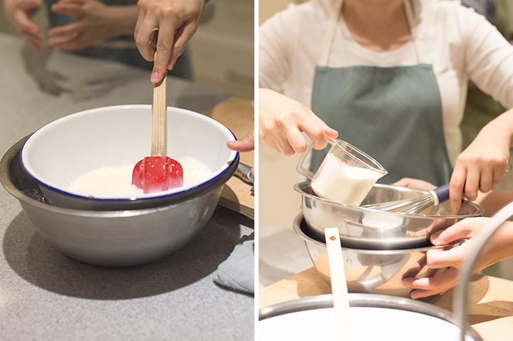 椰纖奶凍佐水果
