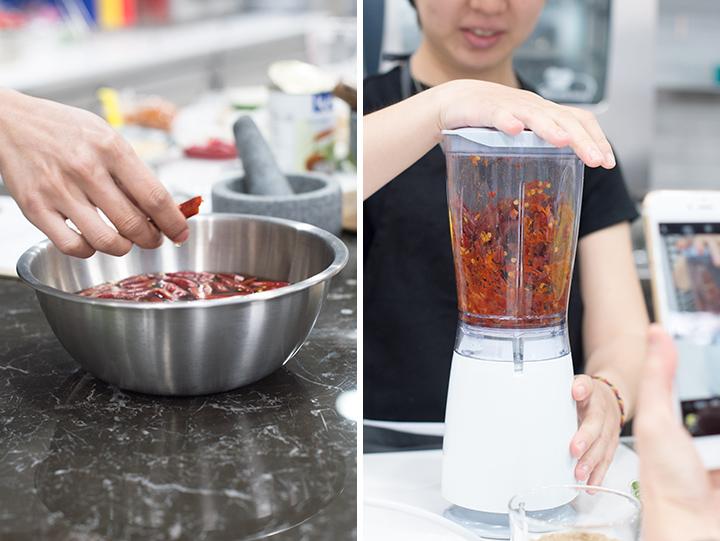 攪打紅辣椒