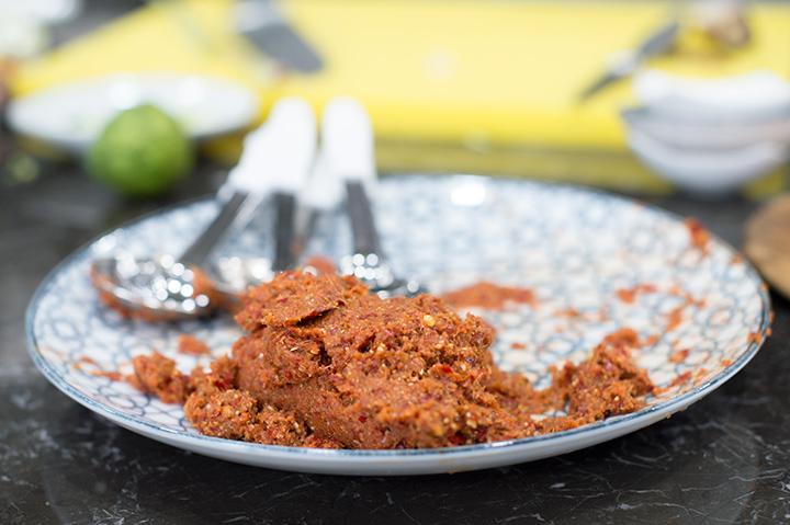 紅咖哩辣醬