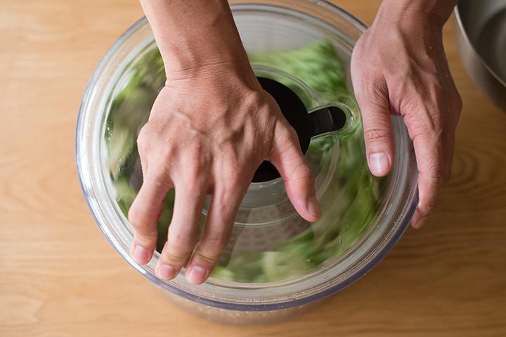 按壓式蔬菜脫水器