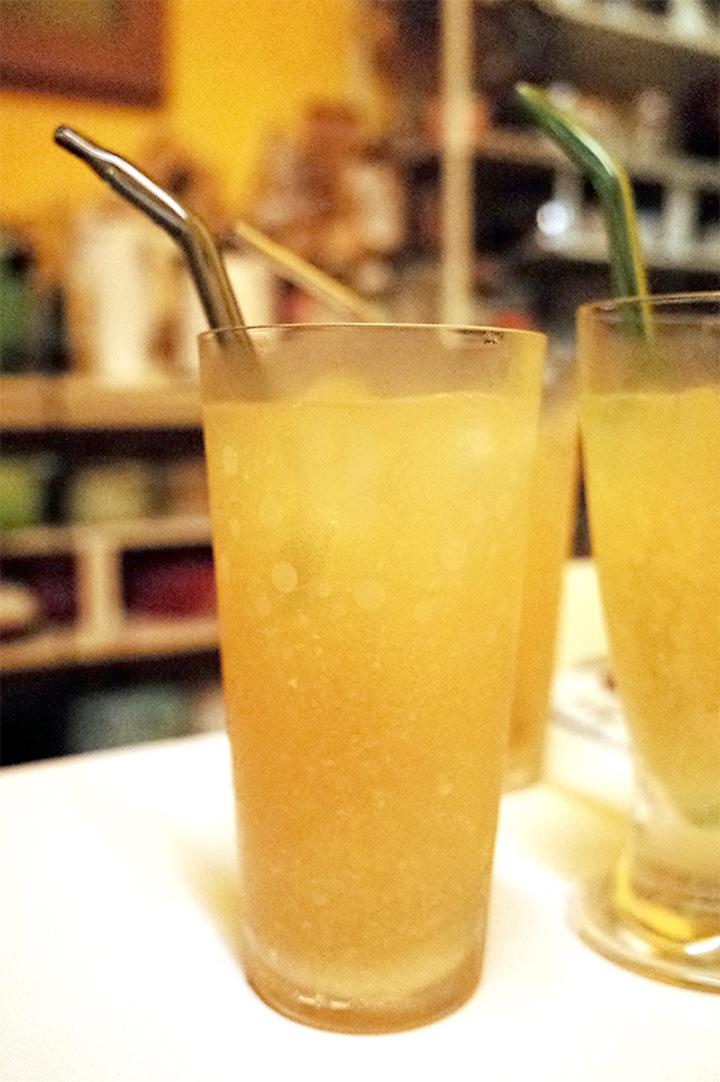 梅爾檸檬綠茶