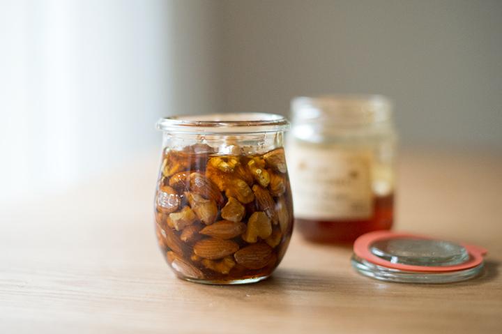 蜂蜜漬堅果