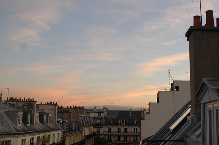 Hotel du College de France 窗景