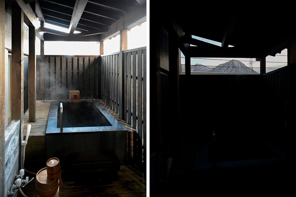 HATAGO井仙客室風呂