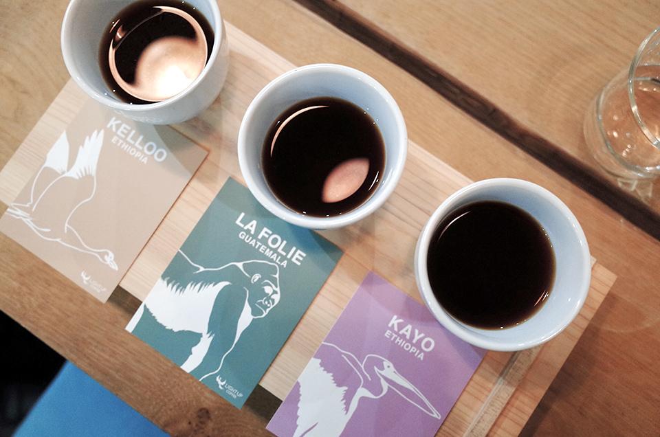 LIGHT UP COFFEE KYOTO, TASTING SET