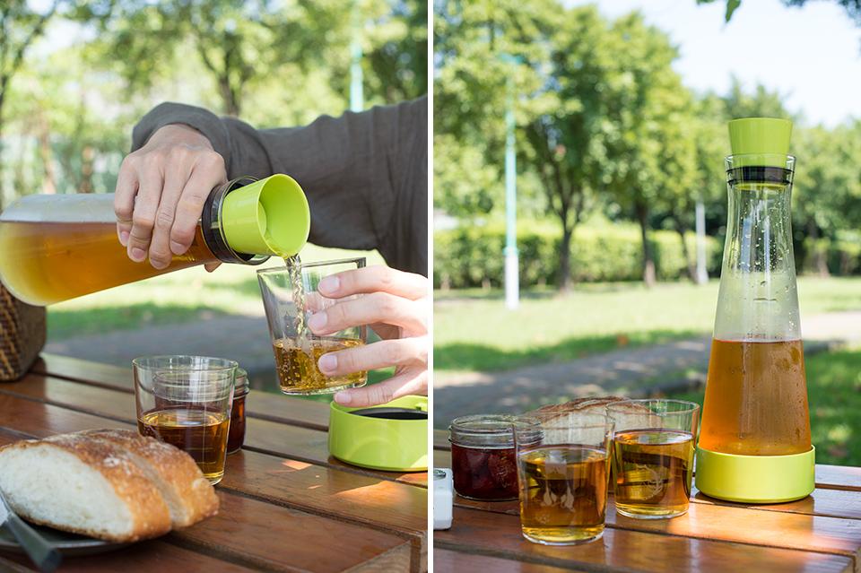 法國特福玻璃保冷瓶
