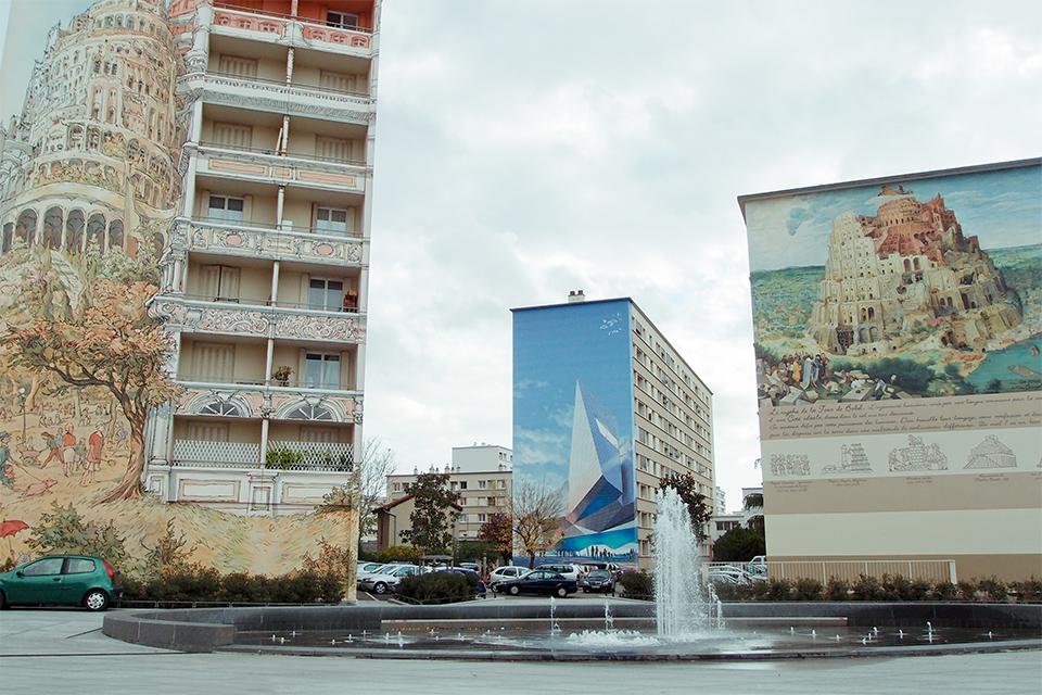 Fresques La Tour de Babel(巴別塔壁畫)