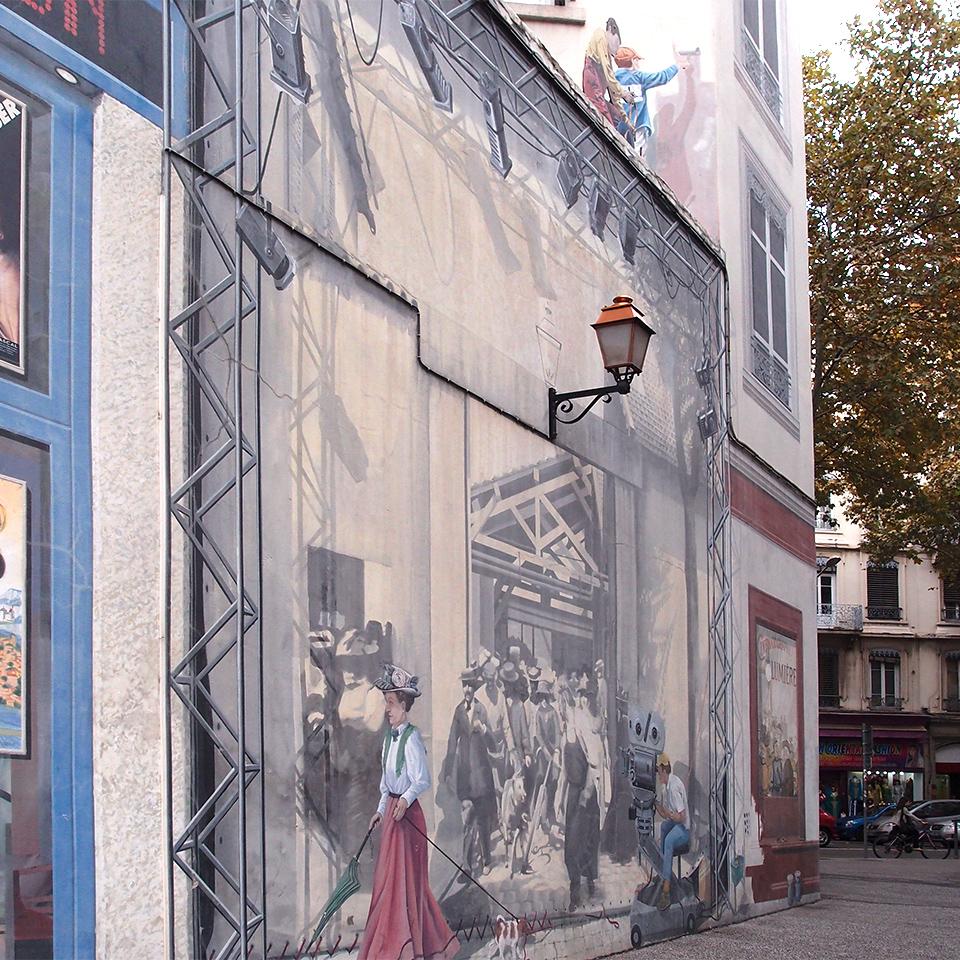 Le mur du cinéma(電影院之牆)