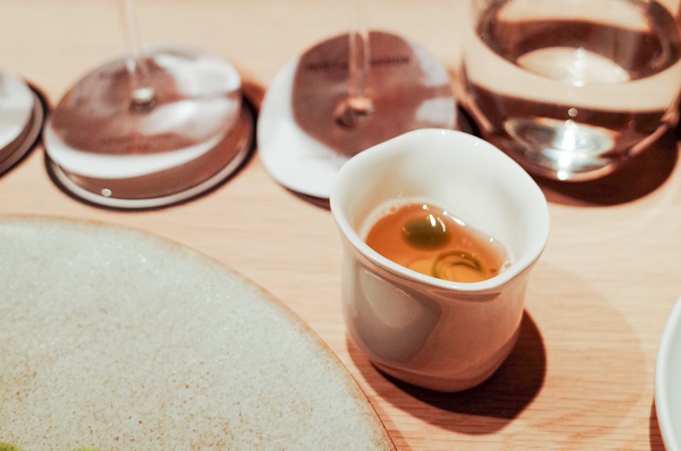 蒸餾蔬菜精湯
