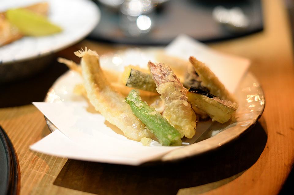 鱚魚野菜天婦羅