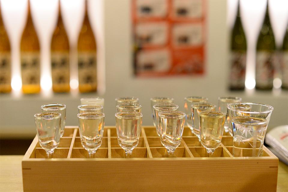 十七蔵の利き酒セット 粋酔