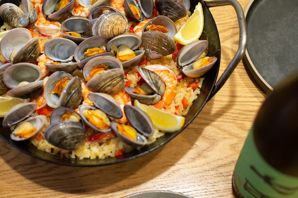 Paella de Mariscos 西班牙海鮮飯