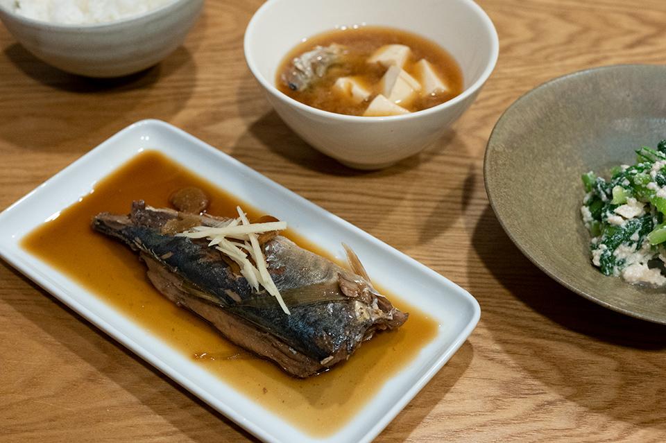 醬燒竹莢魚