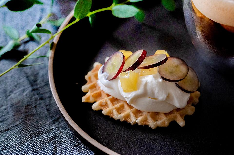 新鮮水果鮮奶油餅乾