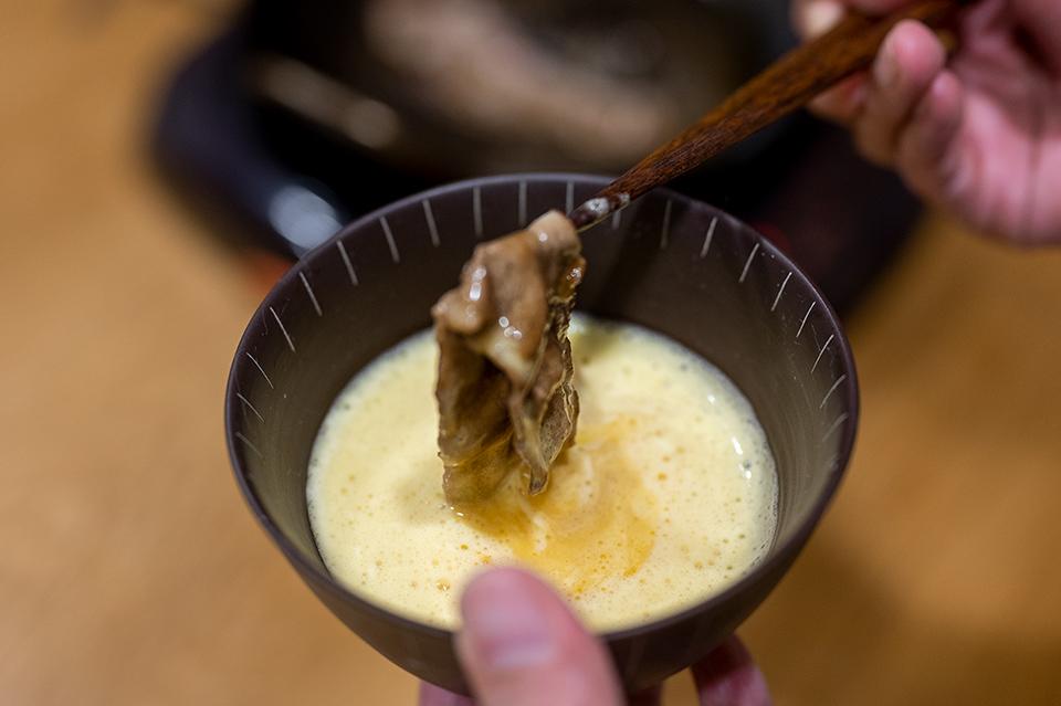 壽喜燒蛋液沾醬
