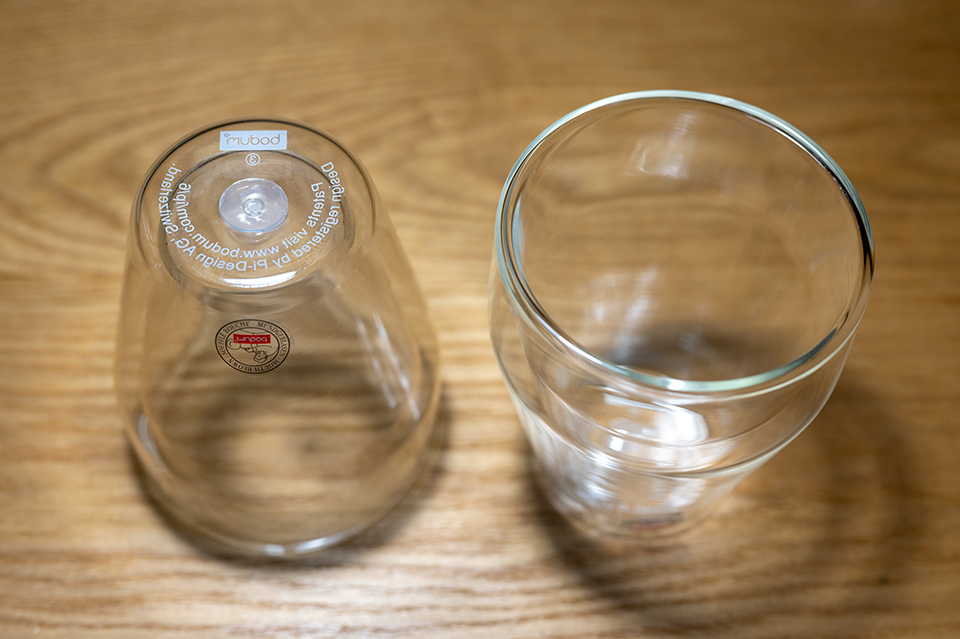 Bodum 雙層玻璃杯