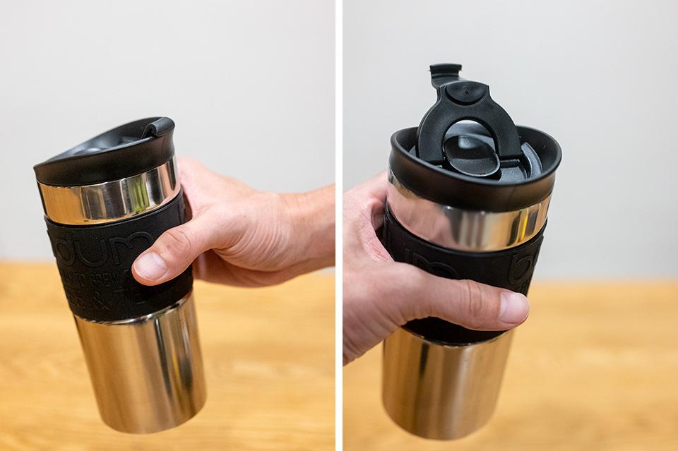 Bodum 雙層不鏽鋼隨行杯