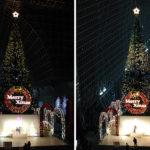 京都車站內的歡樂聖誕