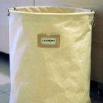 從京都扛回一只簡單質樸的洗衣籃