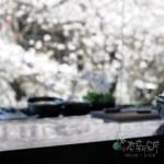 天亮時,用餐就是要搭配著櫻花哪(一)