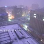 【雪‧漫漫】札幌的清晨