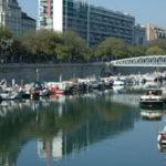 巴黎聖馬丁運河‧有門牌號碼的船隻