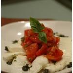 爽口前菜:mozzarella 佐橄欖油蕃茄