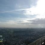 【巴黎】登高,望遠(一),於艾菲爾鐵塔上