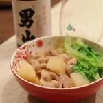 夜裡,來碗蝦高湯豬肉味噌烏龍麵吧!