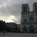 登高望遠,於巴黎聖母院塔樓上