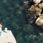 終於抵達義大利阿瑪菲海岸邊