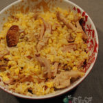 家常雞肉蛋炒飯