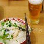 綠竹筍魚粥和炒綠竹筍豆腐