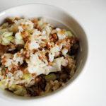 師法小米桶‧肉末高麗菜飯
