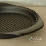 從東京購回的戰利品‧柳宗理南部鐵器橫紋鐵鍋 Grill Pan