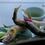 於宇治鮎宗吃到讓人念念不忘的鹽燒香魚