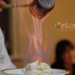 京都 Malebranche Kyoto 的火焰蛋糕(影片篇)