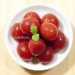 梅子醋漬蕃茄‧爽口的美味