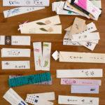 旅行途中的嗜好‧收集筷套和軟木塞,還有那彩虹色鉛筆