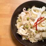海膽番紅花風味海鮮燉飯‧「O&CO. 海膽&番紅花海鮮醬」