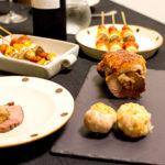 【酒食搭配】加了白葡萄的紅酒,與脆皮洋蔥水梨烤豬肉