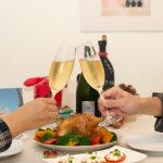 【酒食搭配】烤雞與等待烤雞,以及香檳