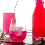 自製紅紫蘇糖漿‧赤しそシロップ